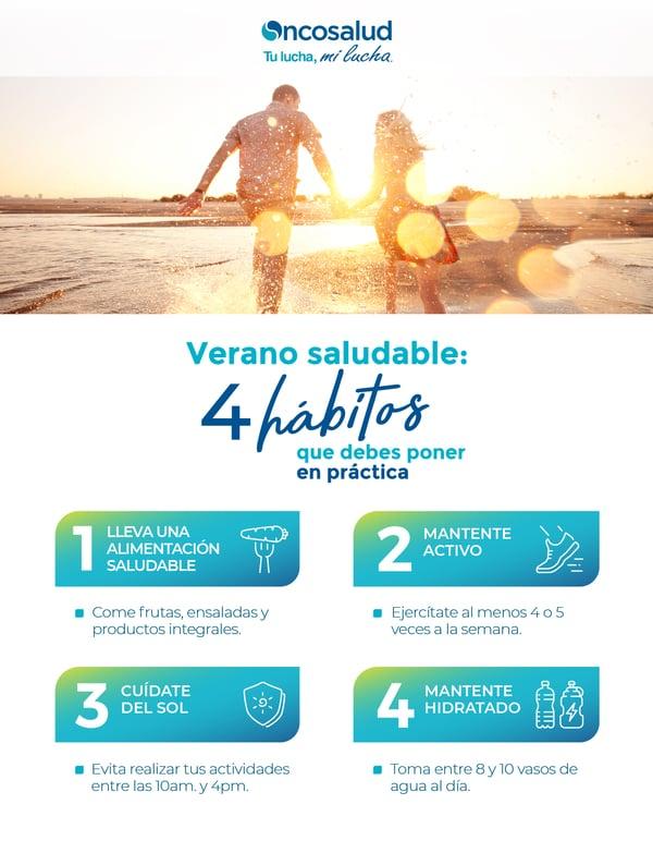 4 habitos saludables verano