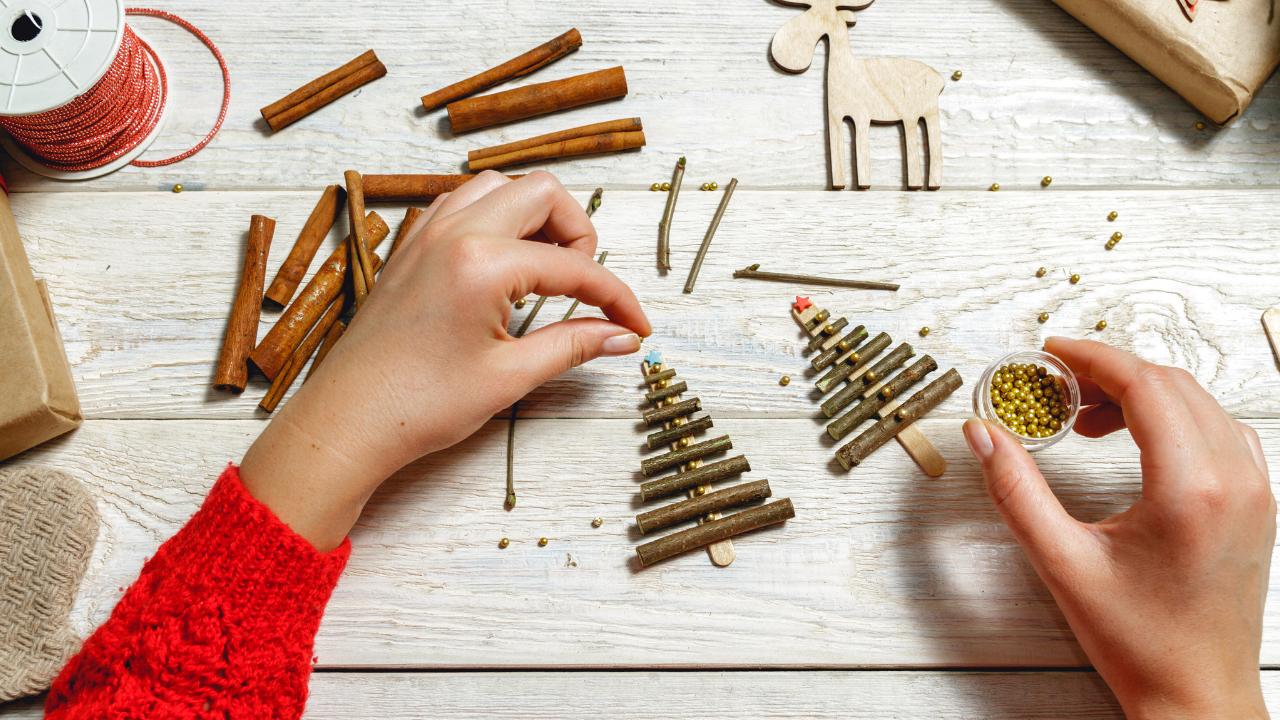 arreglos y manualidades de navidad