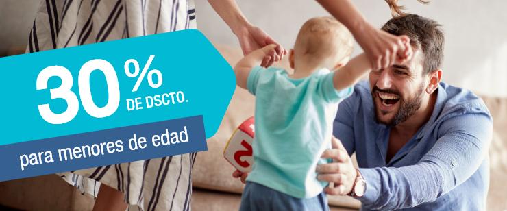 30% DSCTO MENORES DE EDAD ONCOSALUD
