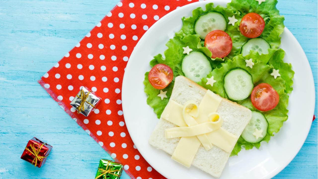 verduras en plato servido