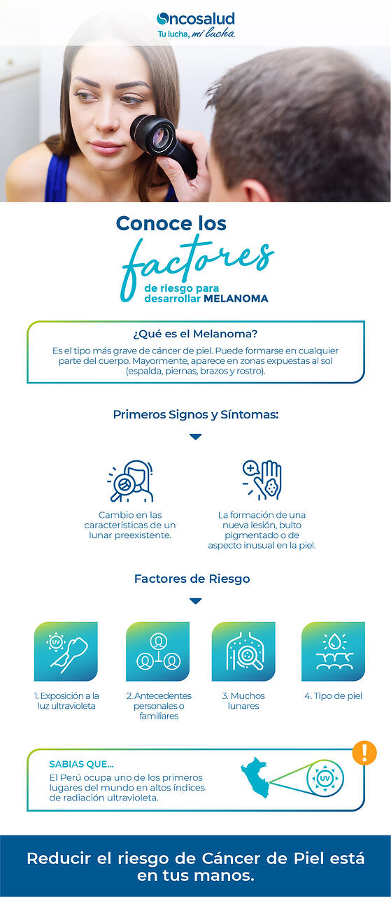 factores de riesgo melanoma