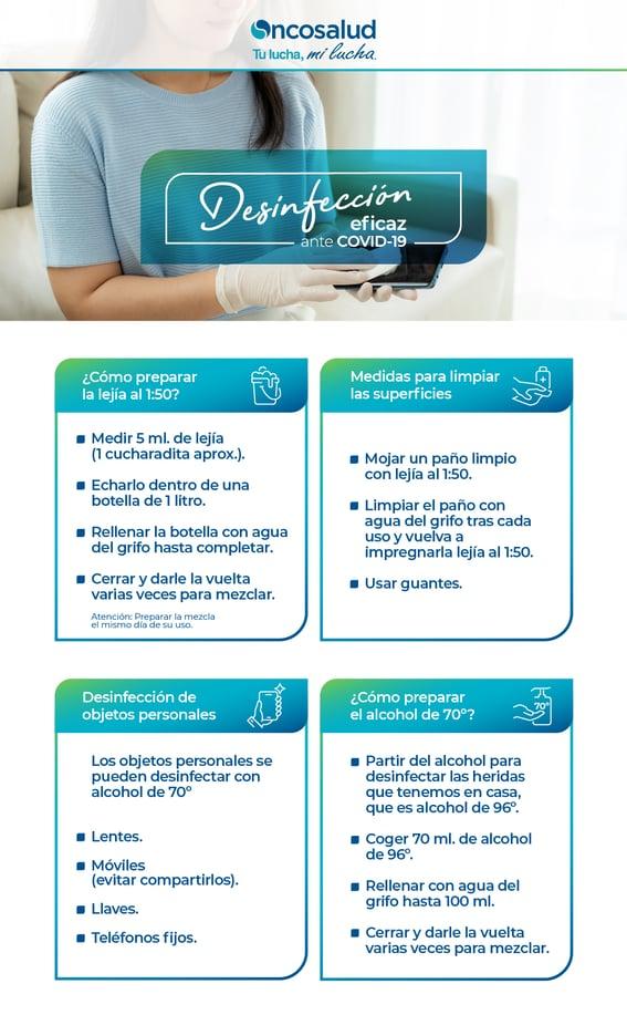 infografia desinfeccion covid19