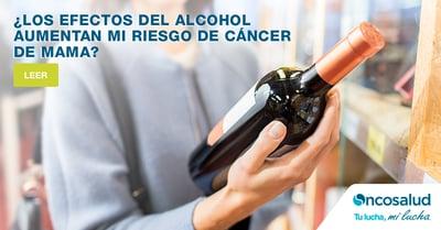 Los efectos del alcohol: Aumenta tu riesgo de cáncer de mama