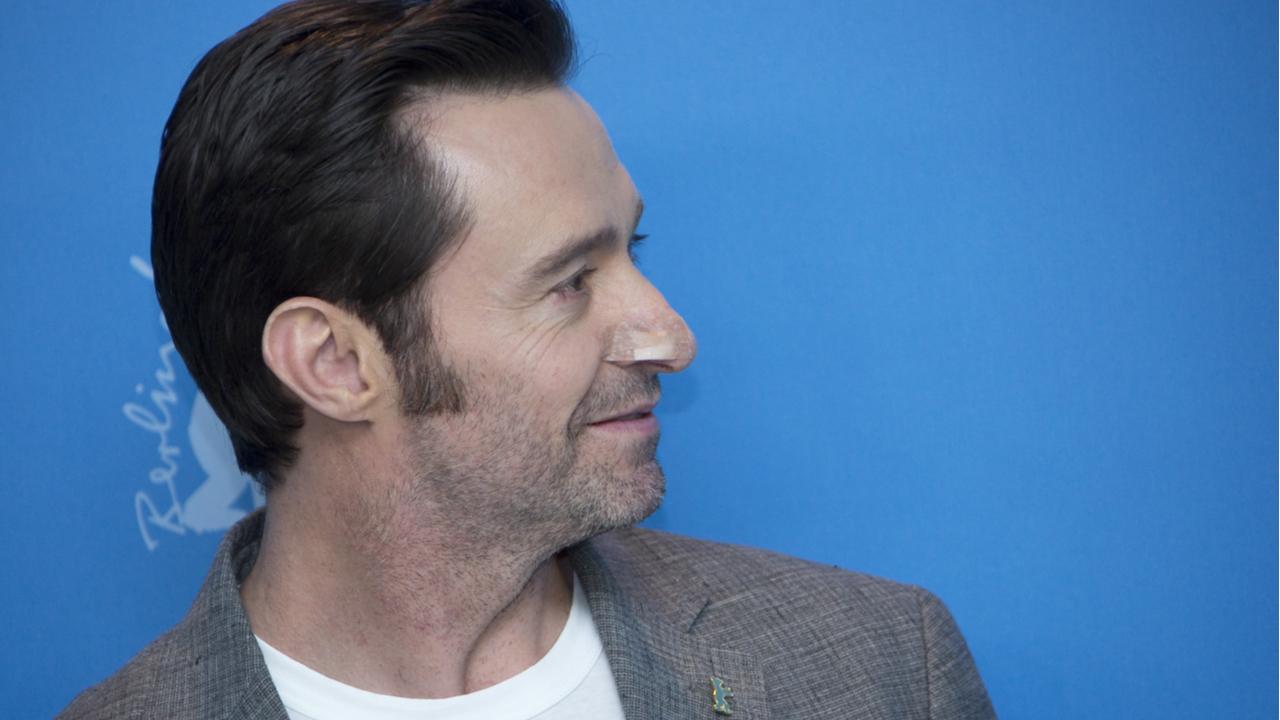 Hugh Jackman de perfil