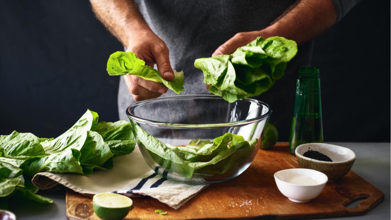 lechuga fresca en bowl