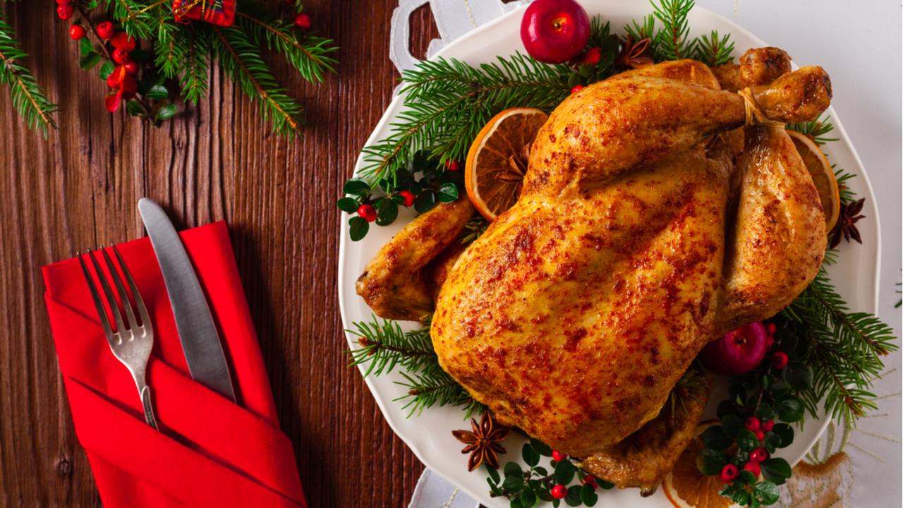 pollo asado para navidad