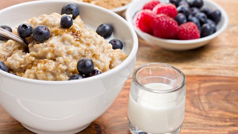 avena para la salud: dieta semanal para bajar trigliceridos y colesterol altos