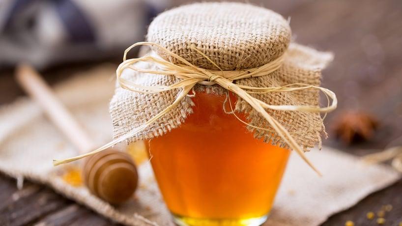 pomo de miel de abeja