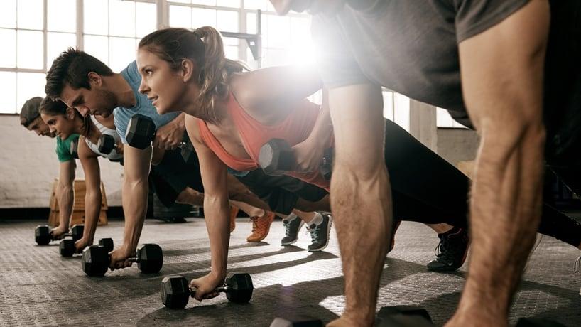 rutina ejercicios vida saludable