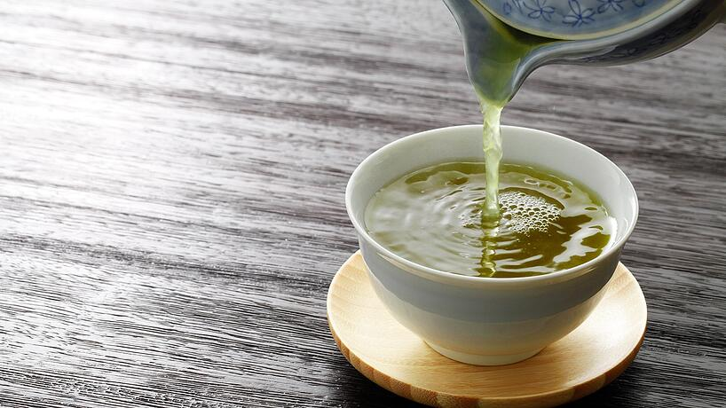 te verde antioxidantes