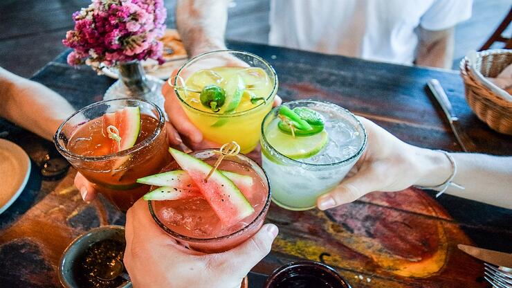 alternativas de cócteles sin alcohol