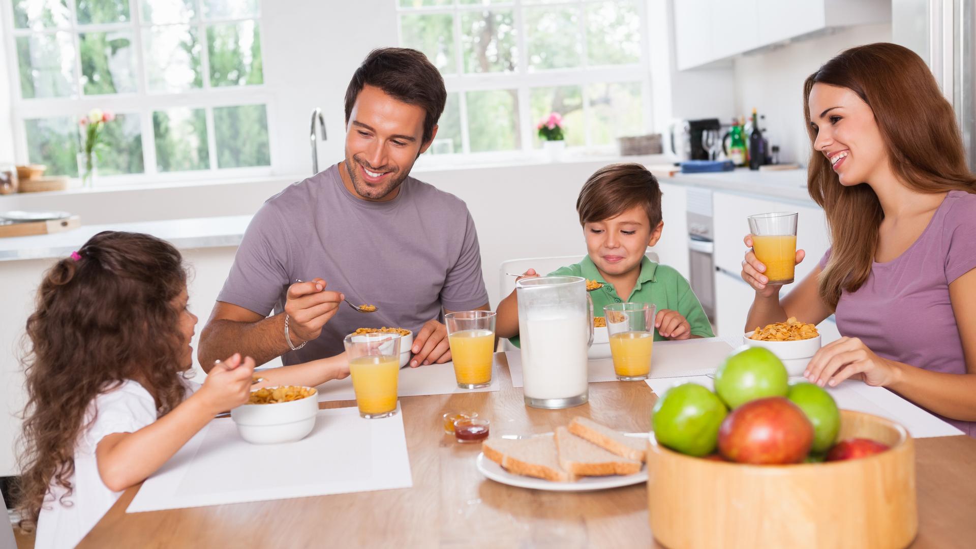 reglas para un desayuno saludable