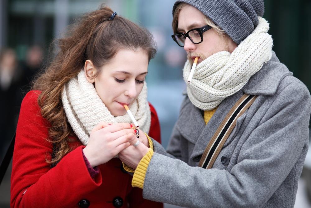 fumar no reduce la sensación de frío