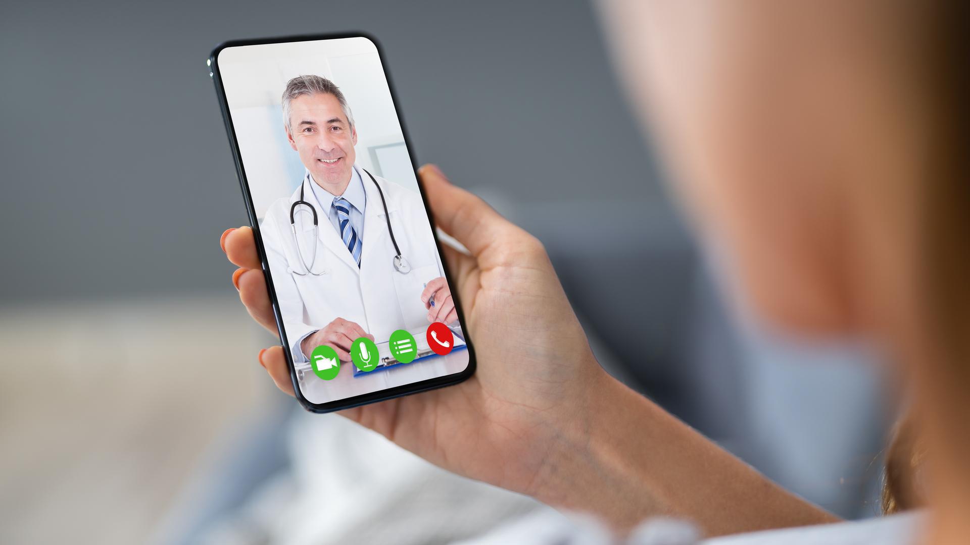 video llamada con doctor