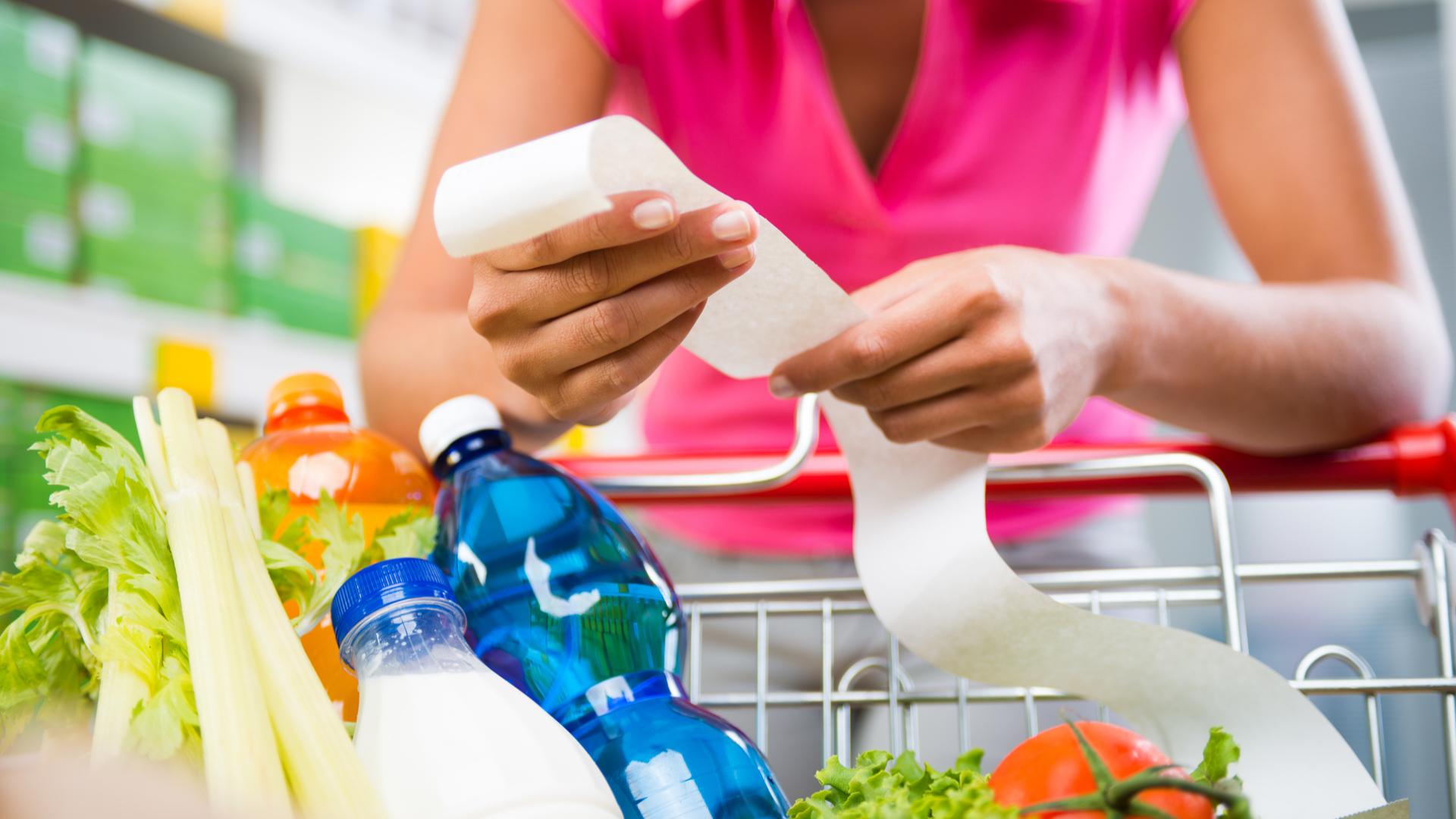 lista de compras para una dieta saludable