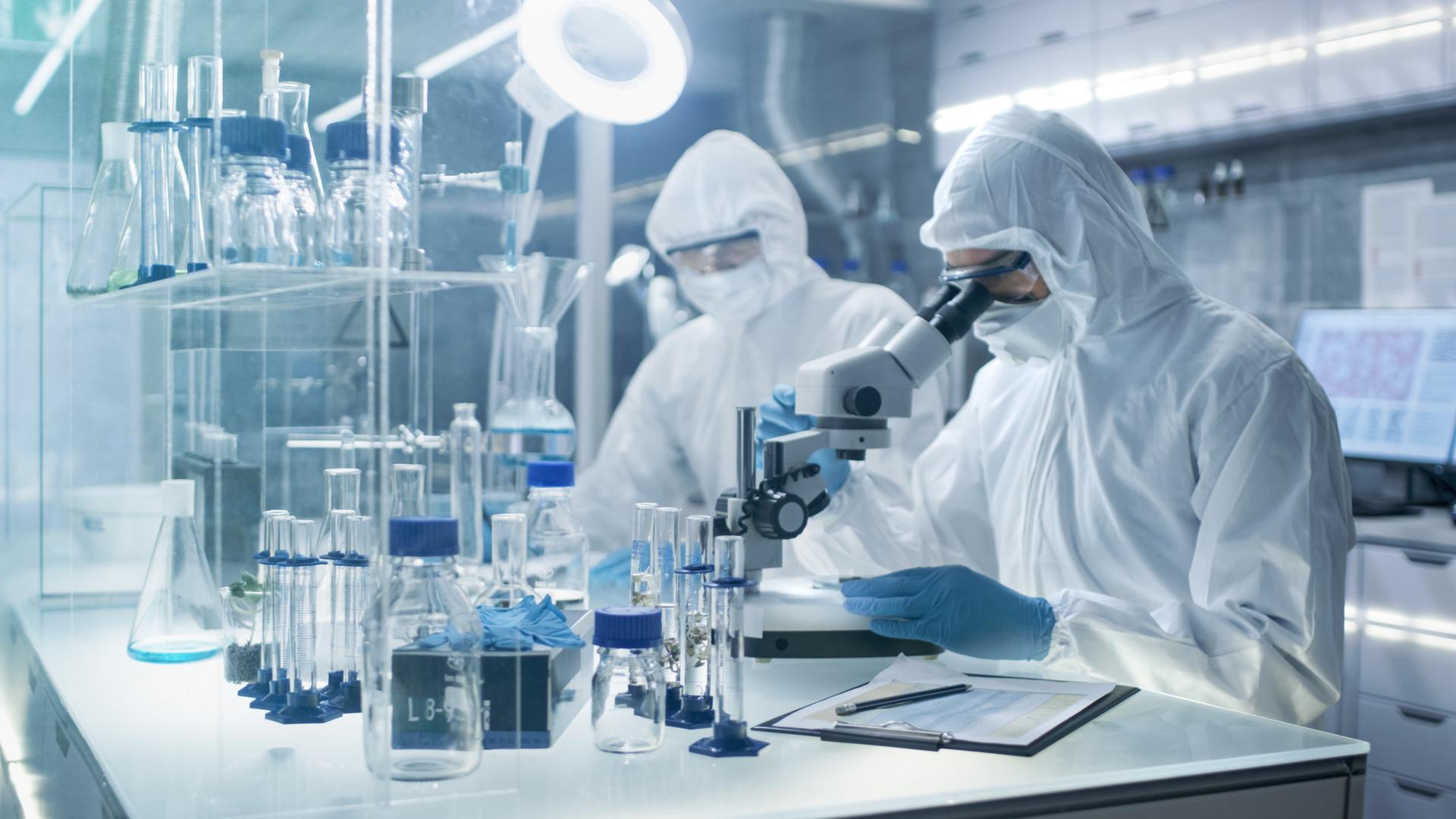 investigacion en laboratorio