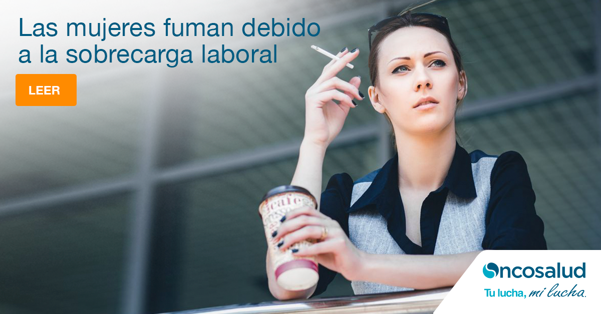 Conoce los efectos del cigarro en la mujer