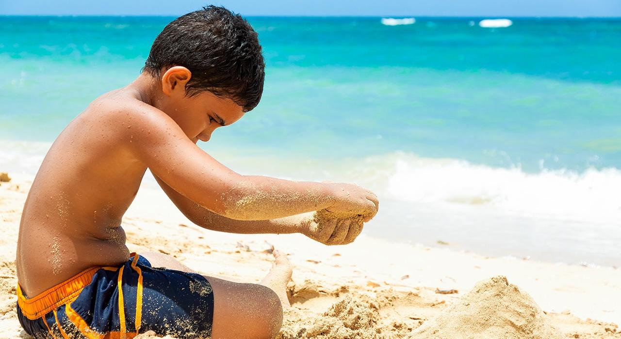 Exposición solar en niños: todo lo que debes saber