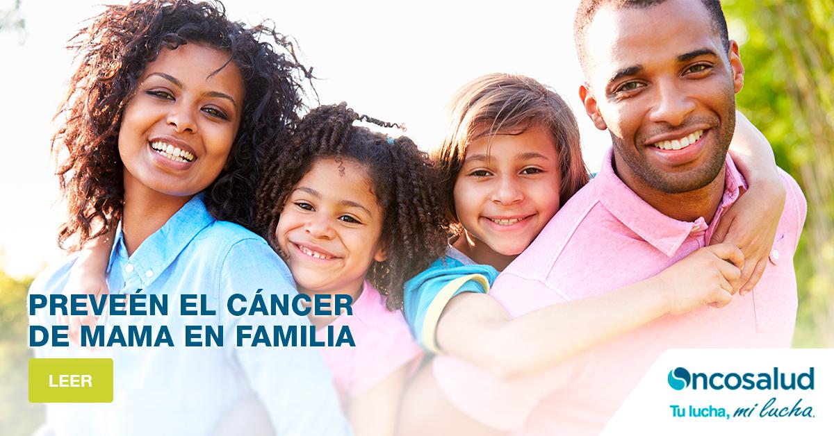 8 recomendaciones saludables para ayudar a prevenir el cáncer de mama en familia