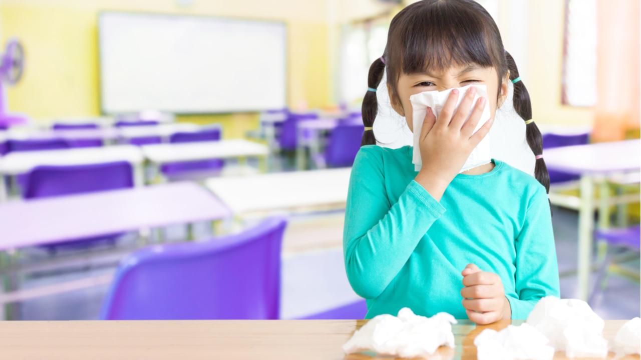 ¿Cómo evitar los virus escolares? 4 consejos para mantener protegidos a tus hijos