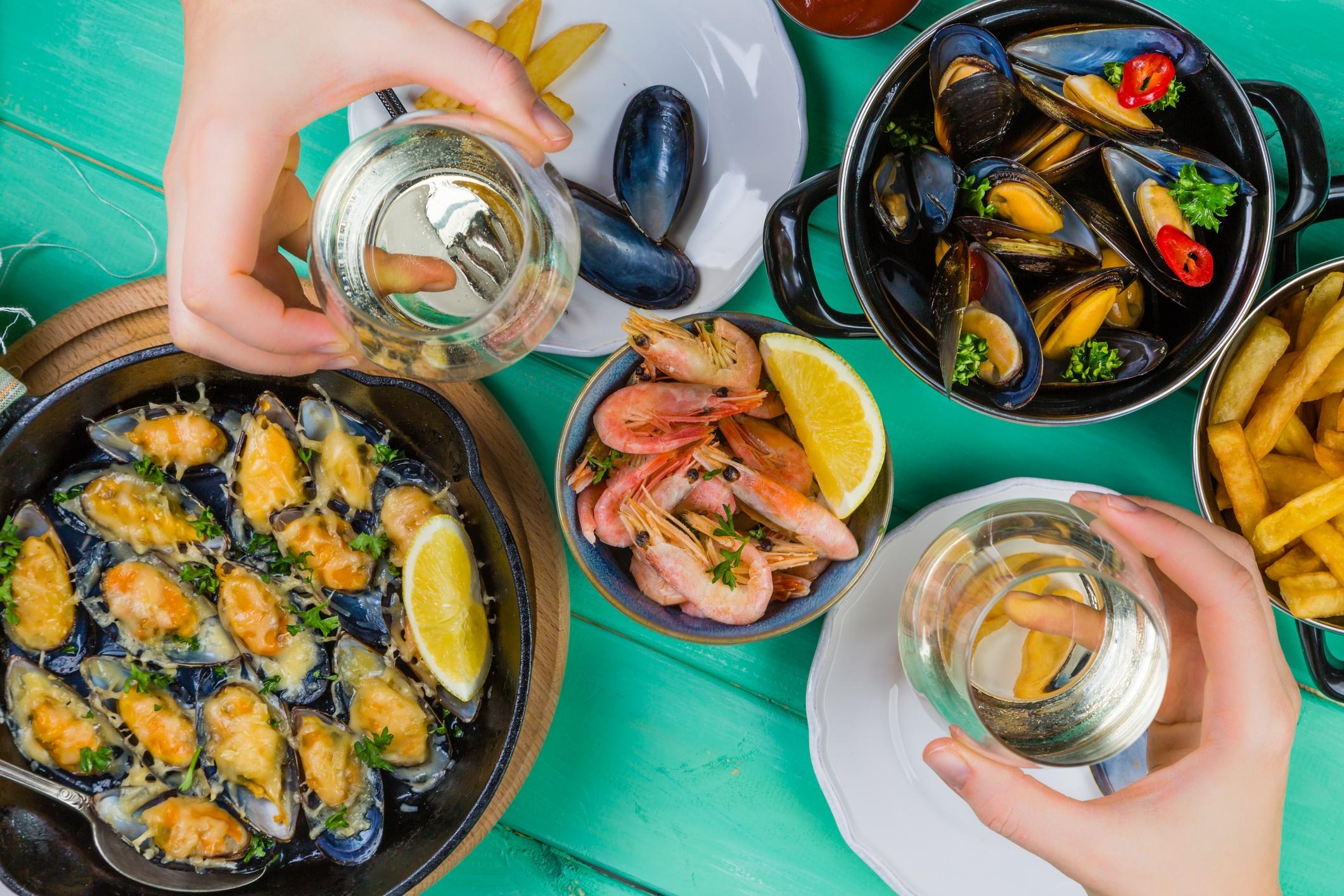 beneficios de la comida del mar